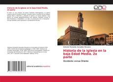Portada del libro de Historia de la iglesia en la baja Edad Media. 2a parte