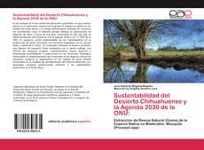 Portada del libro de Sustentabilidad del Desierto Chihuahuense y la Agenda 2030 de la ONU: