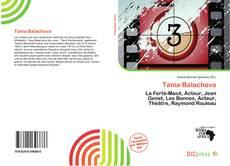 Portada del libro de Tania Balachova