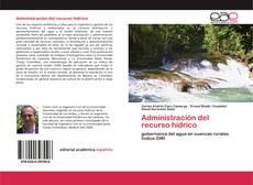 Обложка Administración del recurso hídrico