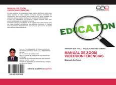 Bookcover of MANUAL DE ZOOM VIDEOCONFERENCIAS
