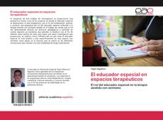 Portada del libro de El educador especial en espacios terapéuticos