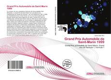 Bookcover of Grand Prix Automobile de Saint-Marin 1999