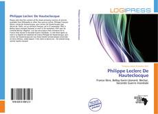 Bookcover of Philippe Leclerc De Hauteclocque