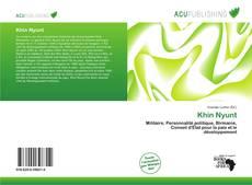 Bookcover of Khin Nyunt