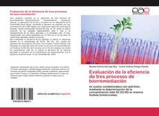 Copertina di Evaluación de la eficiencia de tres procesos de biorremediación