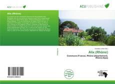 Bookcover of Alix (Rhône)