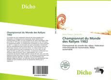 Championnat du Monde des Rallyes 1982 kitap kapağı