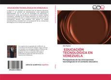 Bookcover of EDUCACIÓN TECNOLÓGICA EN VENEZUELA