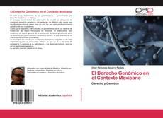 Buchcover von El Derecho Genómico en el Contexto Mexicano