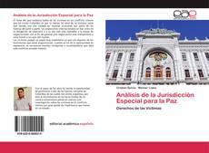 Обложка Análisis de la Jurisdicción Especial para la Paz