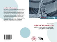 Capa do livro de Interface (Informatique)