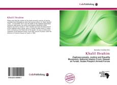 Bookcover of Khalil Ibrahim