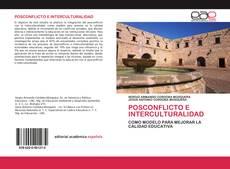 Bookcover of POSCONFLICTO E INTERCULTURALIDAD