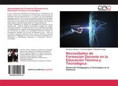 Couverture de Necesidades de Formación Docente en la Educación Técnica y Tecnológica