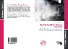 Duluth And Iron Range Railroad的封面
