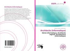 Architecte (Informatique)的封面