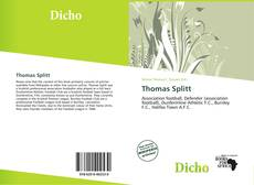 Bookcover of Thomas Splitt