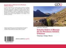 Portada del libro de Estudio Sobre el Manejo de los Residuos Sólidos Urbanos