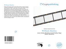 Couverture de William Hanley