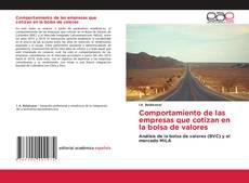 Bookcover of Comportamiento de las empresas que cotizan en la bolsa de valores