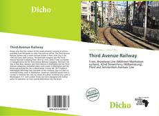 Bookcover of Third Avenue Railway