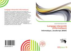Bookcover of Langage interprété (Informatique)