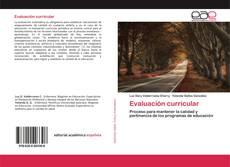 Capa do livro de Evaluación curricular