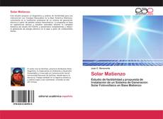 Bookcover of Solar Matienzo
