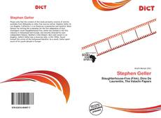 Portada del libro de Stephen Geller