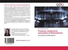 Buchcover von Factores sistémicos asociados al Edentulismo