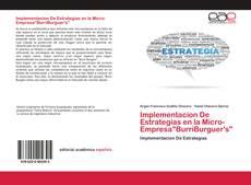 """Bookcover of Implementacion De Estrategias en la Micro-Empresa""""BurriBurguer's"""""""