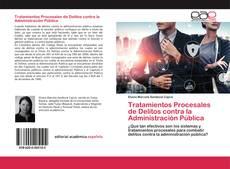 Portada del libro de Tratamientos Procesales de Delitos contra la Administración Pública