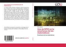 Portada del libro de Uso de NTIC en la enseñanza de las matemáticas