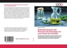 Estandarización del Proceso de Arranque en una Linea de Llenado kitap kapağı
