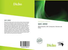 Bookcover of GEC 2050