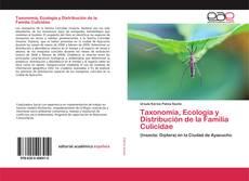 Portada del libro de Taxonomía, Ecología y Distribución de la Familia Culicidae