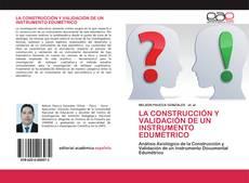 Portada del libro de LA CONSTRUCCIÓN Y VALIDACIÓN DE UN INSTRUMENTO EDUMÉTRICO