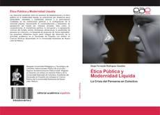 Portada del libro de Ética Pública y Modernidad Líquida