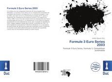Couverture de Formule 3 Euro Series 2003