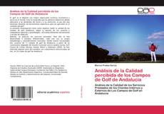 Portada del libro de Análisis de la Calidad percibida de los Campos de Golf de Andalucía