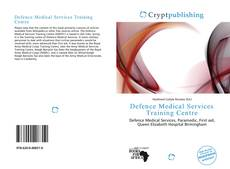 Buchcover von Defence Medical Services Training Centre