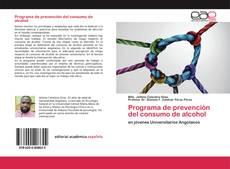 Bookcover of Programa de prevención del consumo de alcohol