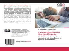 Buchcover von La Investigación en el Proceso Formativo