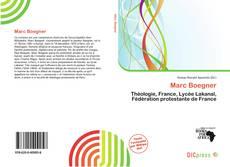 Bookcover of Marc Boegner