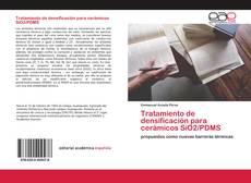 Capa do livro de Tratamiento de densificación para cerámicos SiO2/PDMS