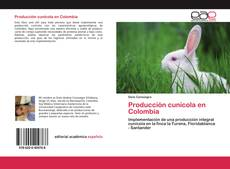Capa do livro de Producción cunícola en Colombia