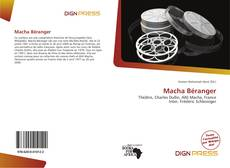 Macha Béranger kitap kapağı