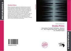 Capa do livro de Ovidiu Petre