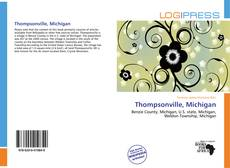 Portada del libro de Thompsonville, Michigan